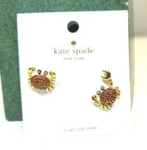 """KATE SPADE """"Shore Thing"""" Pave Crab Stud Earrings  - £16.63 GBP"""