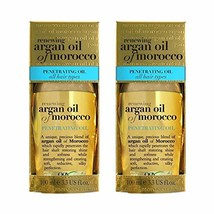 Organix Renewing Moroccan Argan Penetrating Oil, 3.3 Fl Oz Set of 2