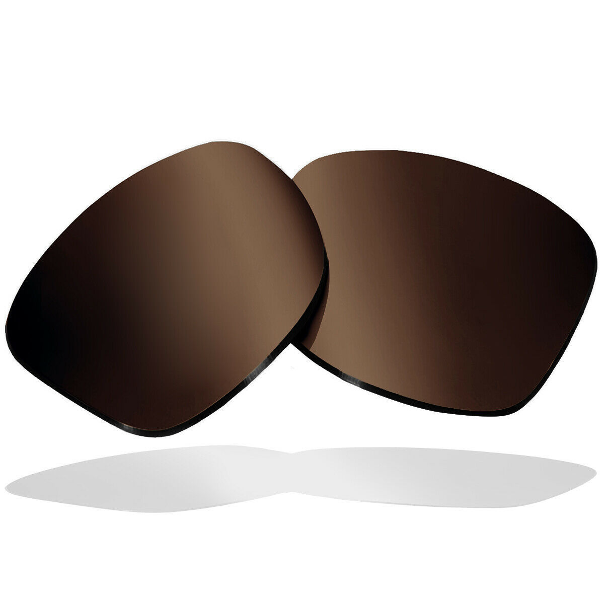 Primary image for Polarized Replacement Lenses for ELECTRIC KNOXVILLE Sunglass Anti-Scratch Brown