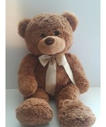 Teddy Bear Brown Soft Plush Stuffed Animal Toy Large 24 Inches Good Cond... - $24.74