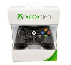 Official Microsoft Xbox 360 Wireless Controller (BLACK) Fr Video Games [... - $45.55