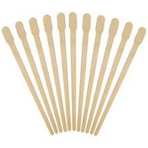 1000pcs Wax Spatulas Small Wax Wood Sticks, Waxing Applicator Sticks Wooden Craf image 4