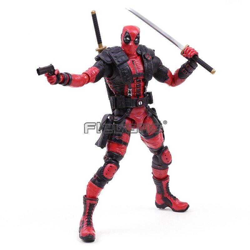 """Marvel Comics X Men Legends Deadpool PVC Action Figure Collectible Model Toy 10"""""""