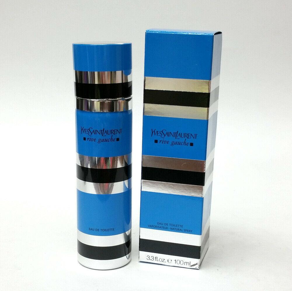 Yves Saint Laurent Rive Gauche Eau de Toilette 3.3 oz 100 mL for Women Used