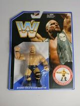 WWE Retro Stone Cold Steve Austin WWF Hasbro Mattel - $32.73