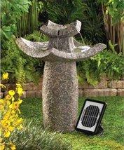 12844 Cascading Fountain Asian Solar Water Fountain - $194.90