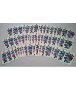 VINTAGE ART DECO LINEN PLAYING CARDS JAMAICAN CARIBBEAN ISLANDS CALYPSO DESIGN - $26.72