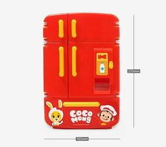 Zeus Toys Coco Mong Melody Light Chef Refrigerator with Drinks Kitchen Roleplay image 6