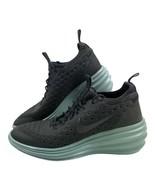 Nike Lunarlon Elite Hi Wedge Dr Gray Mint Women's Size 9 - $69.29
