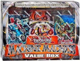 Yu-Gi-Oh Machine Madness Value Box 3 Structure Deck + 3 Jumbo Card Cyber... - $63.09