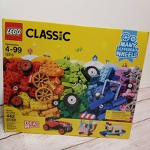 LEGO Classic 10715 Bricks On A Roll Wheels Tires 442 Pieces Ages 4+ Bran... - $33.85