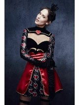 Fever Queen Of Hearts Costume, with Dress, US 8-10, Fever Fancy Dress #CA - $39.13
