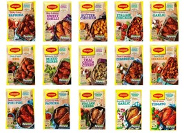 Maggi So Tender So Juicy Chicken Recipe Mix Seasoning Cooking Bags / Papers - $4.64