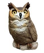 Hand Cast Barn Owl Figurine | Sandra Brue Owl Statue - $35.00
