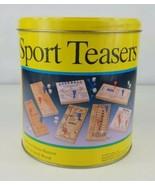 Sport Teasers 7 Peg Wood Brain Teaser Games (1992 Cardinal)  - $16.82