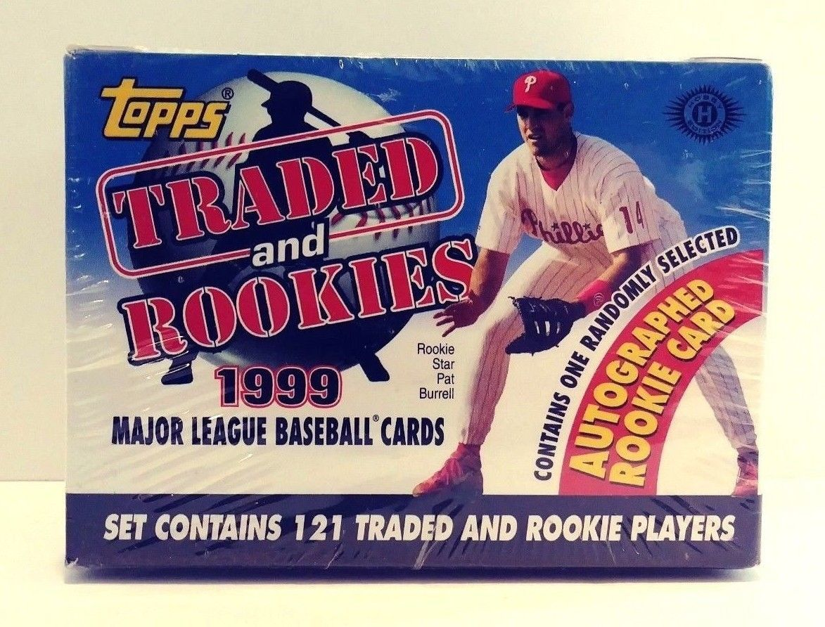 Primary image for 1999 Topps Traded and Rookies Major League Baseball Cards Sealed Hobby Box