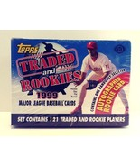 1999 Topps Traded and Rookies Major League Baseball Cards Sealed Hobby Box - $29.99
