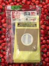 NEW OLD STOCK PACK OF 3 DIRT DEVIL VACUUM CLEANER BAGS TYPE U MICRO FRESH image 2