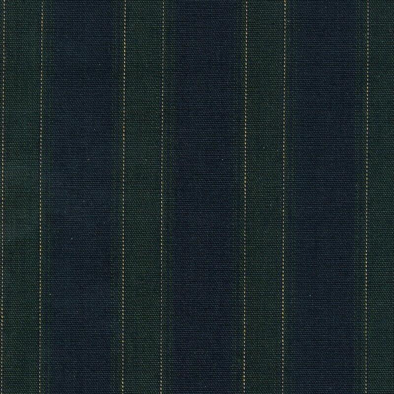 Longaberger 2003 Collector Club Renewal Basket Blue Stripe Fabric SU Liner Only - $9.85