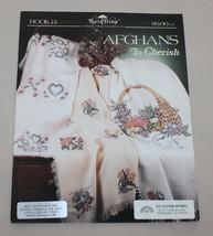 Afghans to Cherish Book 13 Rain Drop Stoney Creek Cross Stitch Patterns - $12.38