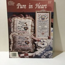 Pure in Heart Cross Stitch Pattern Book Jeremiah Junction - $9.74
