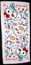 Hello Kitty Snapping Photo 34 X 76 Cm Pink Color Daily Easy Use Cotton Towel - $10.99