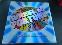 Wheel of Fortune 2th Silver Anniversary Pressman 2007  Game--Complete - $12.00