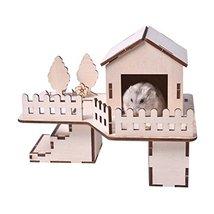 Panda Legends [H] Hamster Wooden Toy Hamsters DIY Habitat Pet Supplies f... - $24.80