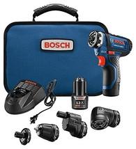 Bosch GSR12V-140FCB22 12V Max Flexiclick 5-In-1 Drill/Driver System - $215.39