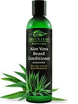 Green Leaf Naturals Aloe Vera Beard Conditioner and Softener for Men - Leave-In  image 9