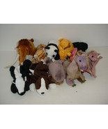 Lot of 10 Ty Beanie Baby Babies Plush No Tags 1993 to 2009 - $19.70