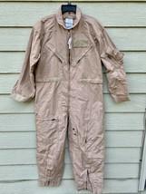 Nwt Genuine Us Air Force Tan Nomex Fire Resistant Flight Suit CWU-27/P - 46S - $123.75