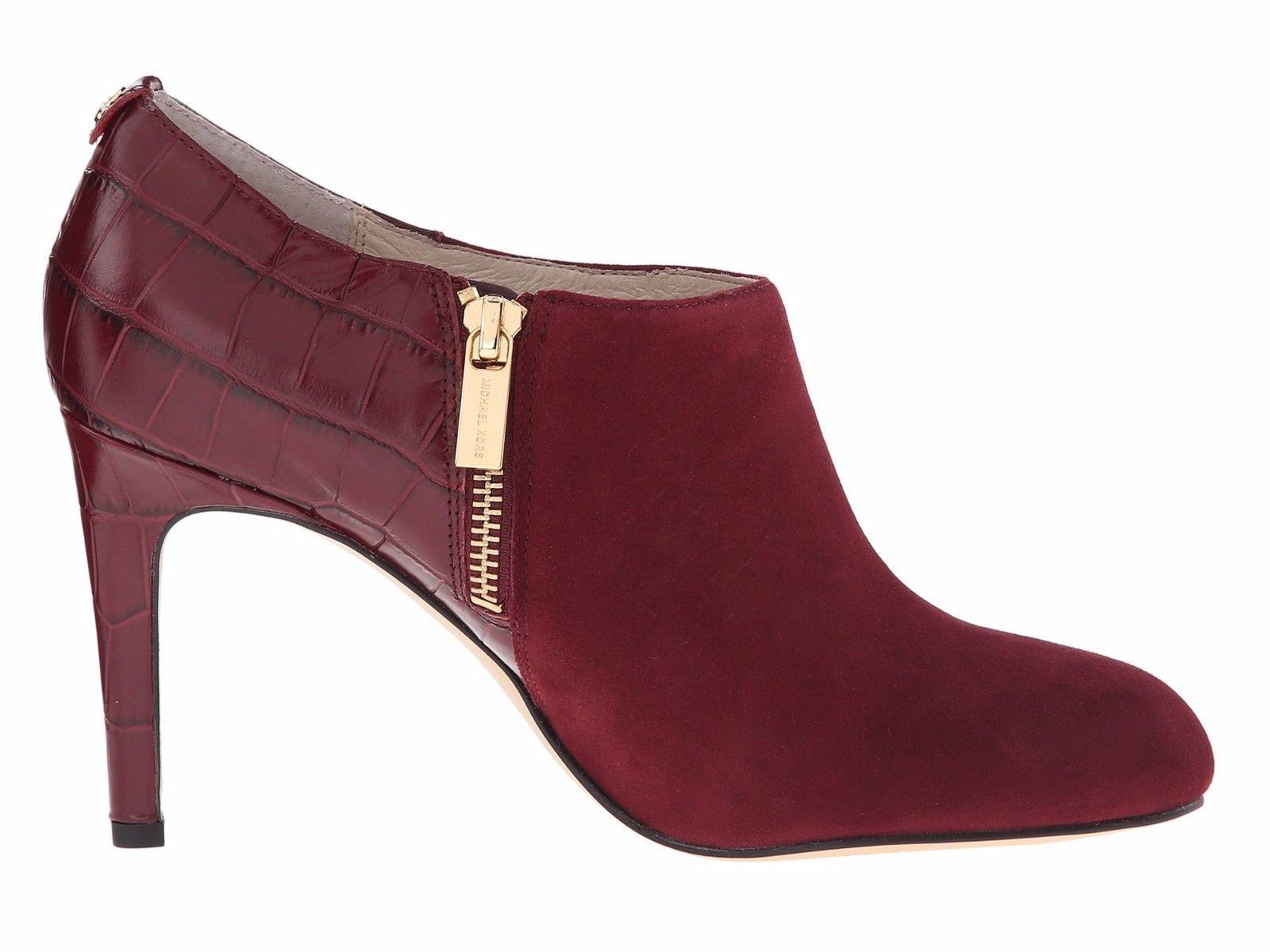 MICHAEL Michael Kors Sammy Ankle Bootie Merlot $175.00 Multiple Sizes