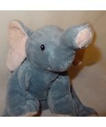 "Elephant 2010 Ty TyLux Plush Stuffed Animal 8"" Gray Pink Toy - $9.99"