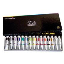 Colorbank Vivid Professional Artists Acrylic Color 12ml 15 Colors Set
