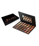 KARA 35Color Eye Shadow Palette Bright Natural Warm Matte Shimmer Eyesha... - $14.93