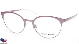 New Emporio Armani Ea 1080 3243 Metallized Pink Eyeglasses Frame 50-20-140 B44mm - $67.61