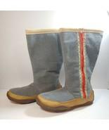 Sorel Norquay Gray Wool Mid Calf Zip Winter Boots Women's Size US 11 UK ... - $100.00