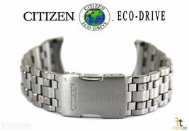 Citizen Eco-Drive S055521 Titanium Silver Tone Watch Band Strap - $373.45