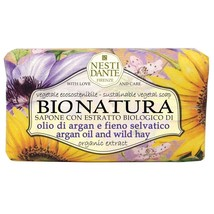 Nesti Dante Bio Natura Argan Oil & Wild Hay Bar Soap 250 gr. / 8.8oz - $11.50