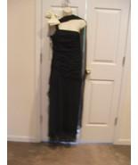 NEW $249 NEWPORT NEWS Formal Evening BLACK LAYERED DRAMATIC GLAMOURUS  S... - $89.09