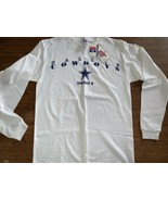 Dallas Cowboys Troy Aikman L/S t-shirt Medium  vintage NOS NWT 1990s - $23.85