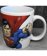 Flying Superman Picture Mug Cup DC Comics - $15.00