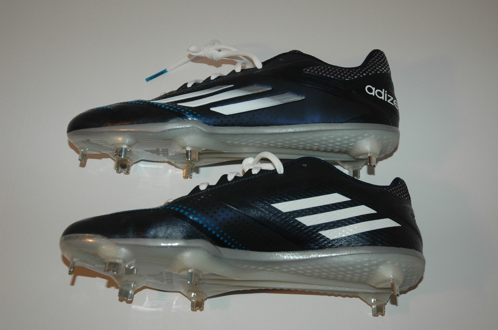 premium selection 20fb4 20976 NEW Adidas Adizero Afterburner 2.0 Metal Baseball Cleats Blue S84704 Sz 11