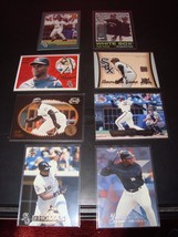 Frank Thomas Quantity 8 Baseball Card Lot Chicago White Sox Mint Condition  - $2.72