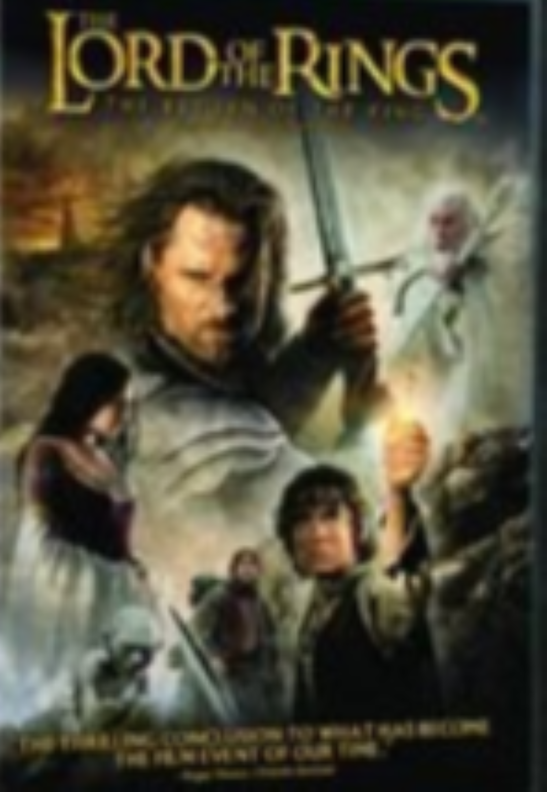 The Lord of the Rings: Return of the King Dvd