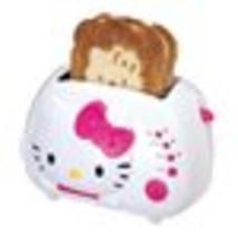 Hello Kitty Toaster 2-Slice Wide Slot Small Appliance Kitchen Toast Brea... - $47.95