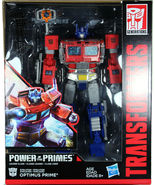 Hasbro Transformers Power of the Primes Leader Class Optimus Prime Actio... - $84.00