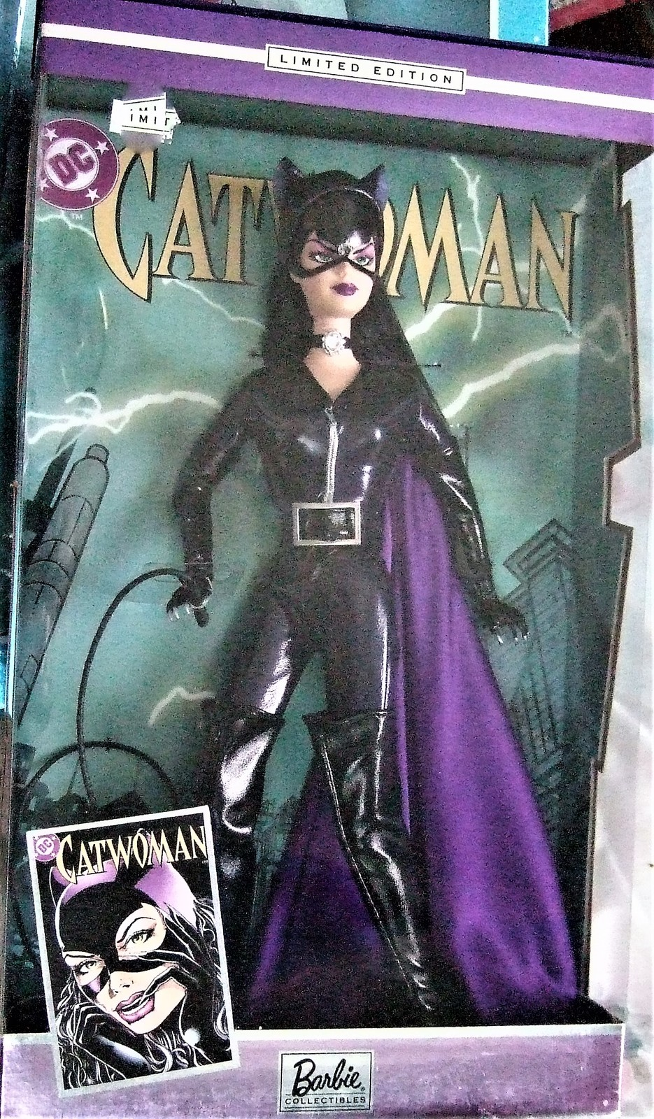 Barbie Doll -Mattel Barbie as Catwoman B3450 New image 2