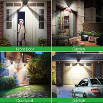 Solar Lights Outdoor, Mitaohoh 82 LEDs Wireless Waterproof Solar Motion Sensor L image 4